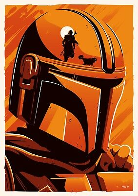 "The Mandalorian ( 11"" X 17"") Movie Collector's Poster Print DISNEY STAR WARS"