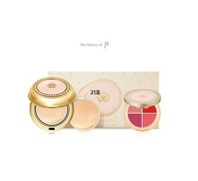 The History Of Whoo Gongjinhyang:Mi Luxury Golden Cushion Glow Special Set SPF50