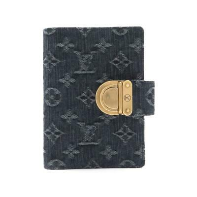 Authentic LOUIS VUITTON Monogram denim organizer PM R21038  #260-003-315-3896