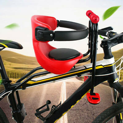 Bicycle Front Seat Safety Stable Baby Child Kids Chair Seat for Mountain Bike US