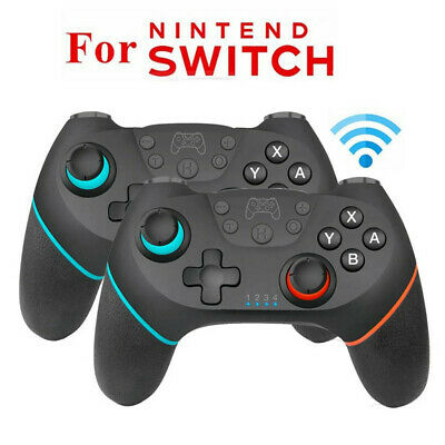 2019 Bluetooth Wireless Gamepad Joystick Pro Controller For Nintendo Switch UK