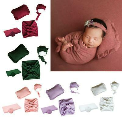 Baby Photography Suit Baby Wraps Towel Photo Background Cloth Hat Pillow Prop