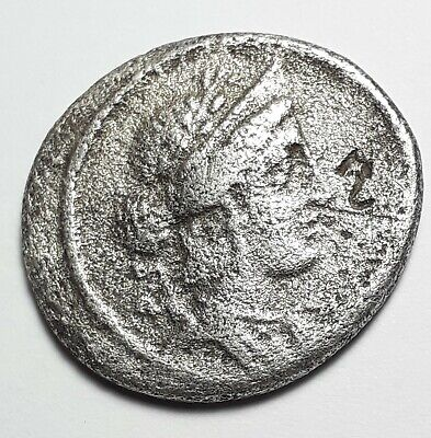 coin  Roman Republic P. Licinius Crassus. Denarius 55 BC