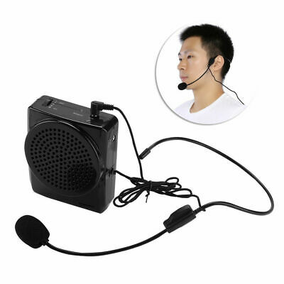 Portable Rechargeable Voice Amplifier Loud Booster Microphone Speaker Waistband