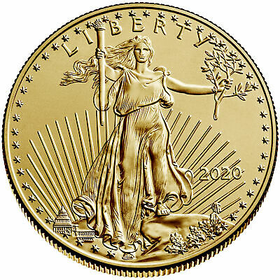 Daily Deal - 2020 $50 American Gold Eagle 1 oz Brilliant Uncirculated