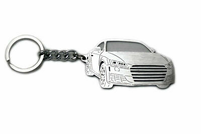AUDI KEYRING KEY CHAIN FOB GIFT STAINLESS STEEL A1 A3 A4 A5 A8 Q5 Q7 RS3 S3 S4