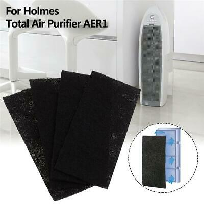 5.1 x 10.2 x 0.6 8pcs HQRP Carbon Filters for Holmes HAP Series Air Purifiers