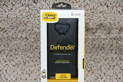 🔥 Otterbox Defender Series Black Case Samsung Galaxy Note 9 Note9 Authentic NEW