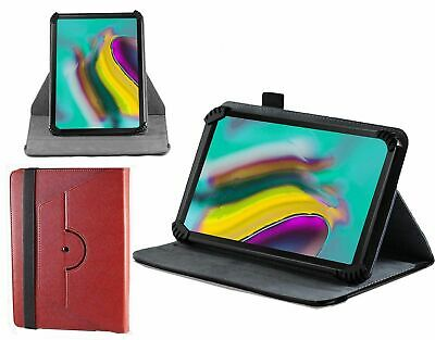 """Navitech Red Tablet Case For The Vodafone Tab Prime 6 9.6"""" Tablet NUEVO"""