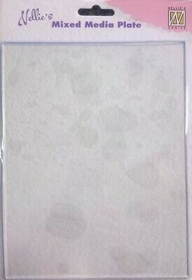 Nellie's Choice - Media Gel Plate transparent A5 - 15 x 20cm - LARGE - NEW!