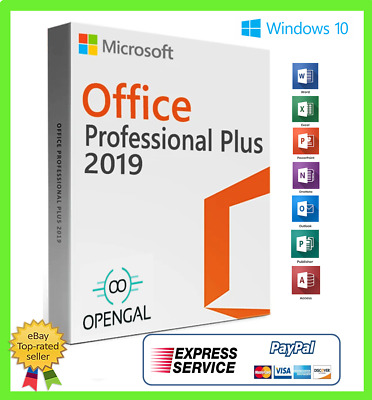 Office 2019 Professional Plus- Descarga Sitio Oficial y Licencia - 32/64 OFERTA