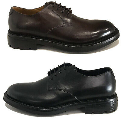 CAMPANILE SCARPA UOMO derby in pelle art 2718 MADE IN ITALY