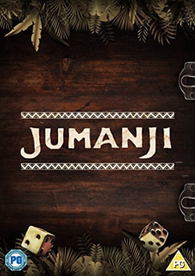 Jumanji Special Edition With Board Game DVD NUEVO