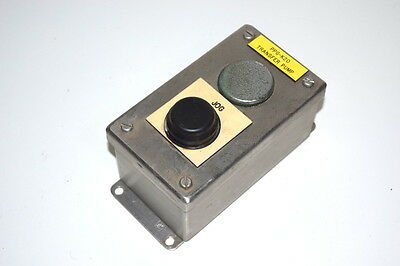 Hoffman E-2Pbss Stainless Steel Pushbutton Enclosure 9001Ka-1G