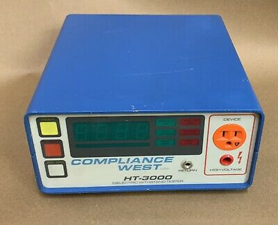 Compliance West HT-3000 Dielectric HiPot Ground Continuity Withstand Tester
