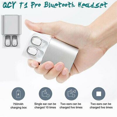 Waterproof Handfree Noise Reduction TWS Wireless Bluetooth Earphone Portable
