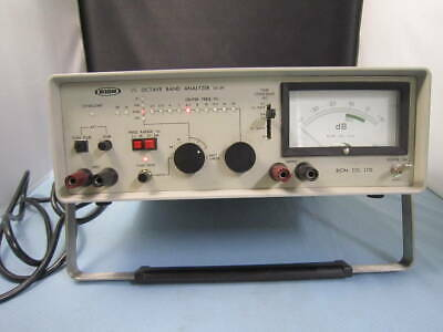 【As-Is】Rion Sa-59 1/3 Octave Tape Analyzer