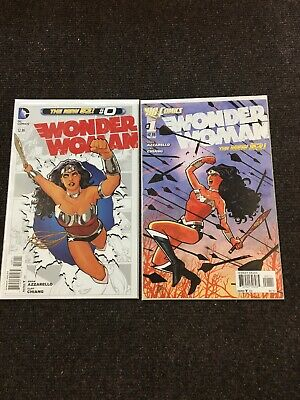 Wonder Woman #0-#52, #23.1, #23.2, Annual #1 New 52 Complete Set