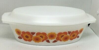 Vintage oven dish by ARCOPAL   LOTUS , rare
