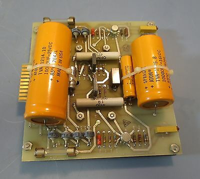 Icore Acurex Corporation +5V & -10V Power Supply Board ASSY 12856 Bd 12857-D-01