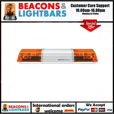 Vision Alert 1200mm 2 Rotators Illuminated Centre 12v lightbar PN 604.3A01