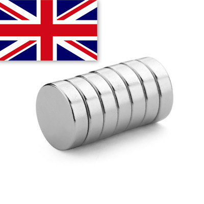 Super Strong Neodymium Magnets Craft Ring - 10x3mm  10mm x 3mm - N35 - UK SELLER