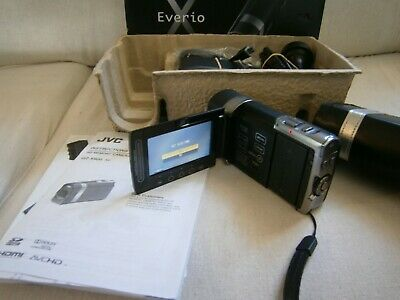 Jvc Everio X Hd  Memory Camera  Gz - X900 - Unused Still In Box - Unwanted Gift