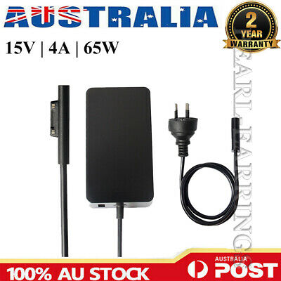 65W 15V 4A AC Power Charger Adapter For Microsoft Surface Pro 3 4 Model 1706 AU