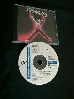 The Angels Night Attack Cd Rare 1St Press Disctronics 4659862 Australia Vintage