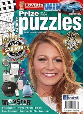Lovatts Variety Puzzle Issue 104 Dec/Jan W03 9315408001094