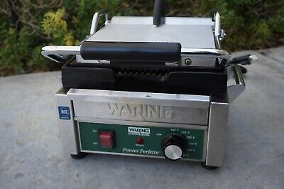 Waring Commercial Panini Grill Model WPG150 *Excellent -LN- Home Used*