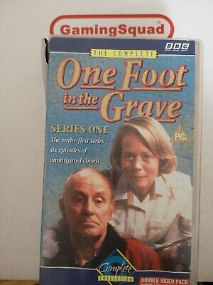 One Foot in the Grave Series 1 VHS Video Retro, Supplied by Gaming Squad