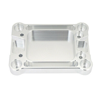 Billet Shifter Box Base Plate Kit For Civic Integra K20 K24 K Series Swap Silver