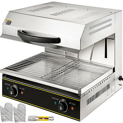 Commercial Electric Rise & Fall Adjustable Salamander Grill Toaster Catering