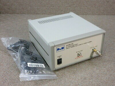 【AS-IS】R&K High Frequency Power Amplifier AA300-RS