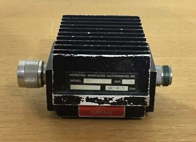 weinscel Attenuator MODEL WA29-30-04 DC-8.5GHz IN75 OUT20