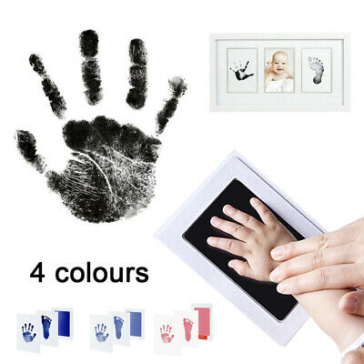 Inkless Wipe Baby Safe Non Toxic Hand & Foot Print Ink Pad Kit For Baby Gift