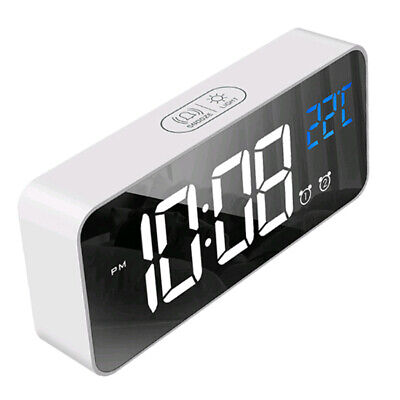 LED Full Screen HD Digital Clock Multi-function Electronic Mute Alarm Clocks