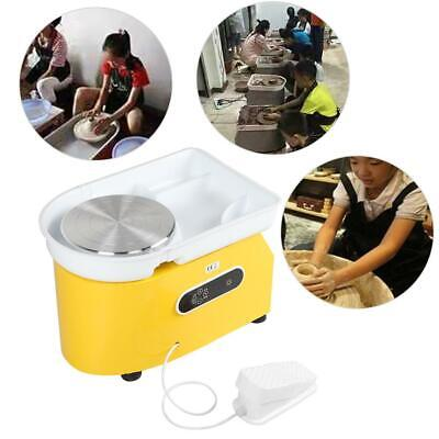 350W Electric Pottery Wheel Ceramic Machine For Work Clay Art Craft 220V 25CM