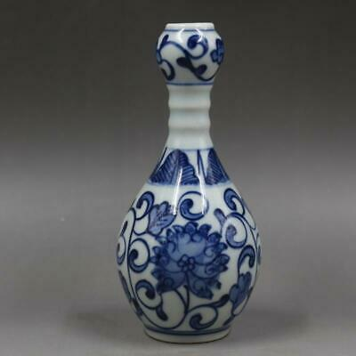 Chinese ancient antique hand make Garlic Bottle Porcelain