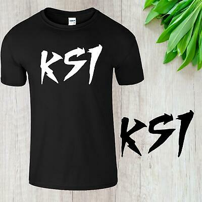 KSI Keep Up Mens T-Shirt Sidemen YouTube Adults Army  Gaming Unisex  Cool Tee