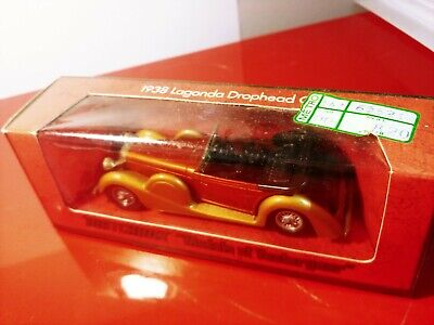 Matchbox Lagonda Drophead 1938 MADE IN ENGLAND by Lesney N°Y-11