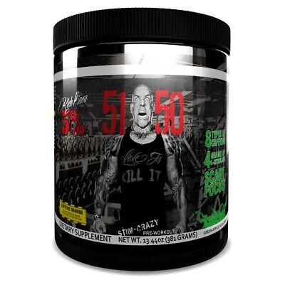 RICH PIANA 5% NUTRITION 5150 pre workout STRONG stim energy citrulline 30 serv