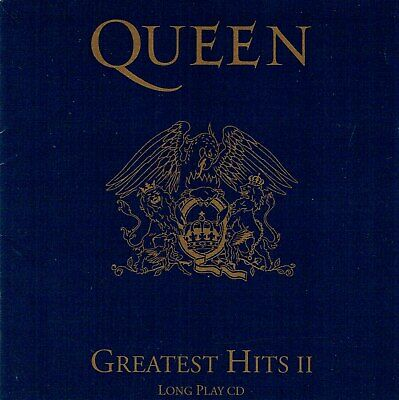 CD-Queen -Greatest Hits II - A Kind Of Magic, I Want To Break Free, Radio Ga Ga
