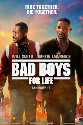 """Bad Boys for Life ( 11"""" x 17"""" ) Movie Collector's Poster Print (T2) - B2G1F"""