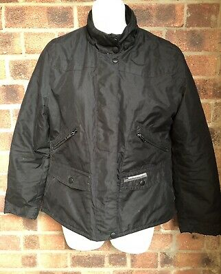 Short Black LEVIS STRAUSS For Girls Zip Up Jacket Coat - Size 10 - Small