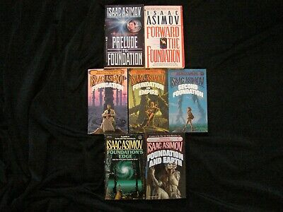 Isaac Asimov ~ FOUNDATION Series ~ Complete (7 PB's) ~ Mankind, Earth, Russia