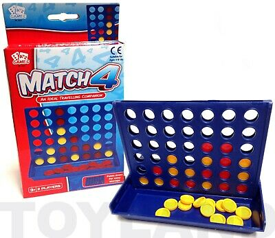 Four In A Row Connect 4 Mini Travel Game Toy Boys Girl Christmas Stocking Filler