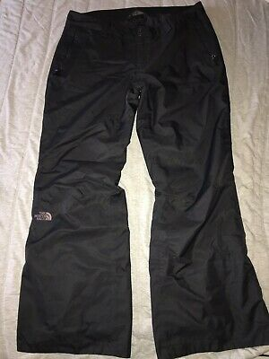 North Face Women's Size Black Dry Vent Snowboard Ski Hiking Pants Size XL