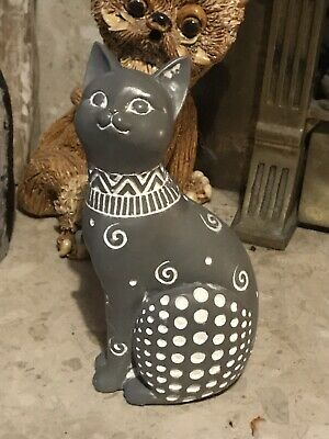 Latex Rubber Mould to make this Tall Sitting Cat Ornament